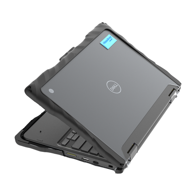 DropTech for Dell 3100 2-in-1 Chromebook - Black 1
