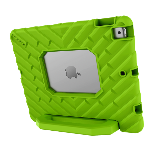 FoamTech for iPad 10.2-inch (7th Gen and 8th Gen) - Lime Green - Back Hero