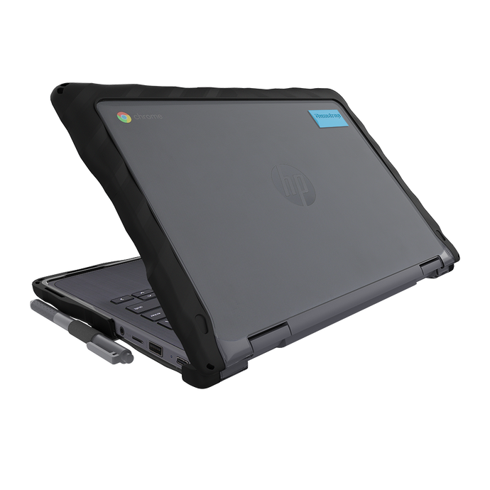 DropTech for HP Chromebook x360 11 G3 EE - Black 1