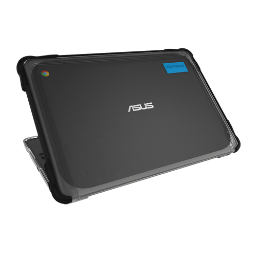 SlimTech for ASUS Chromebook C203XA - Opened | Back View - Black