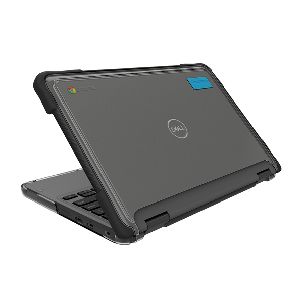 SlimTech for Dell Chromebook 3100 (2-in-1) - Opened Back View - Black