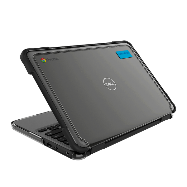SlimTech for Dell Chromebook 3100 (Clamshell) - Opened | Back View - Black