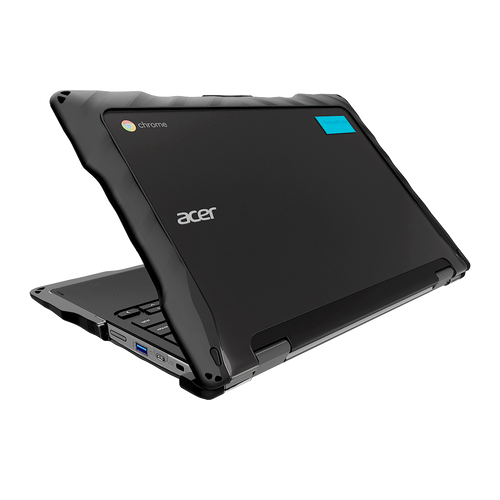 DropTech for Acer Chromebook Spin 511/R752TN 2-in-1 - Black 1