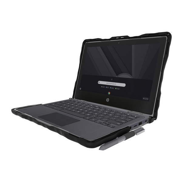 DropTech for HP Chromebook x360 11 G3 EE - Black 2