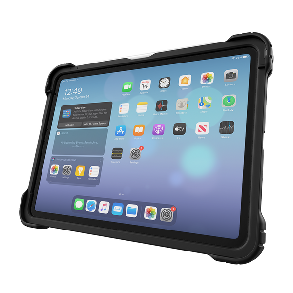 Hideaway Folio for iPad 10.9-inch - Black - Front Hero