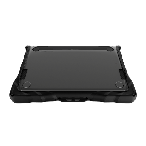 DropTech for HP Chromebook x360 11 G4 EE - Black - Bottom