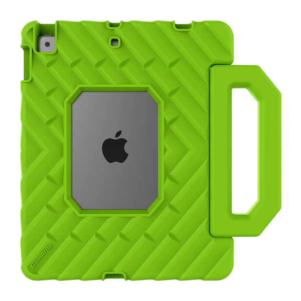 FoamTech for iPad 10.2-inch (7th Gen and 8th Gen) - Lime Green - Back