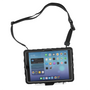 Hideaway for iPad 10.2-inch - Front view with strap - Black