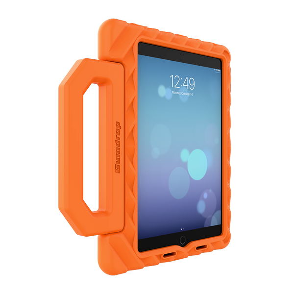 FoamTech for iPad 10.2-inch (7th Gen and 8th Gen) - Orange - Left (Angle)
