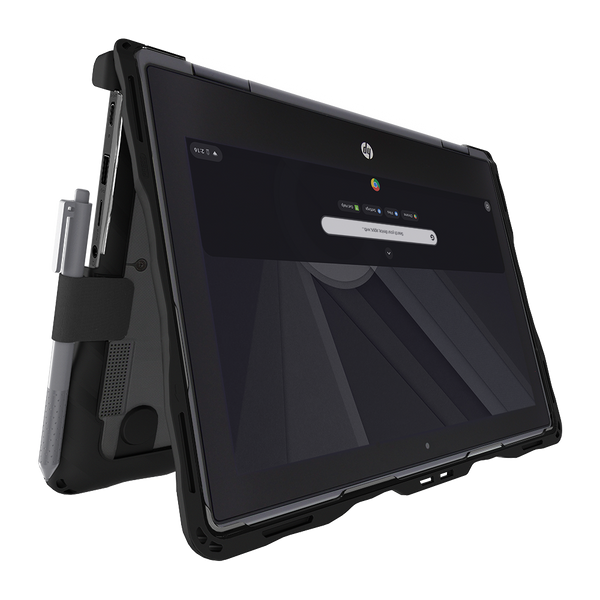 DropTech for HP Chromebook x360 11 G3 EE - Black 7