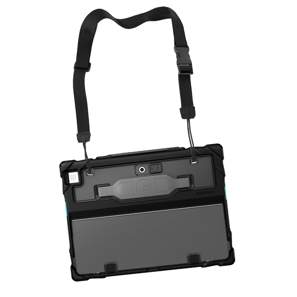 DropTech for Dell 7210 Latitude 12-inch (2-in-1) - Black - With Strap