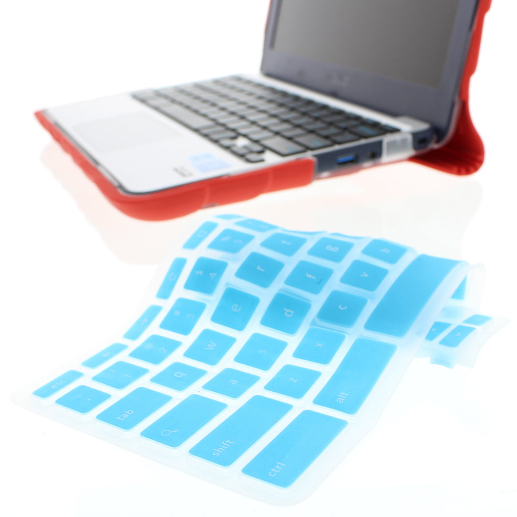 Silicone Keyboard Cover for Asus Chromebook C202
