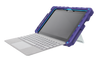 foamtech microsoft surface go case - purple/teal main