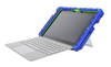 foamtech microsoft surface go case - royal blue/lime main