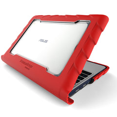 Asus C202 case - red main