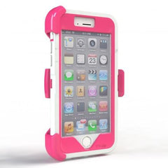iPhone 6 case - White/Pink 2