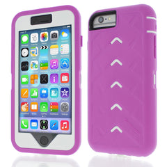 iPhone 6 case - Dark Pink/White main