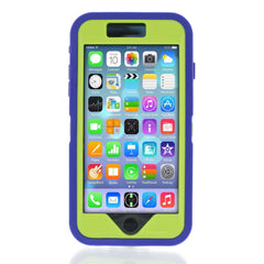 iPhone 6 case - Royal Blue/Lime 3