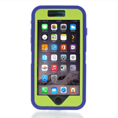 iPhone 6 case - Royal Blue/Lime 2