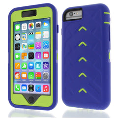 iPhone 6 case - Royal Blue/Lime main