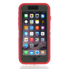 iPhone 6 case - Red/Gray 2