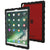 iPad Pro 10.5 case - Black/Red Main