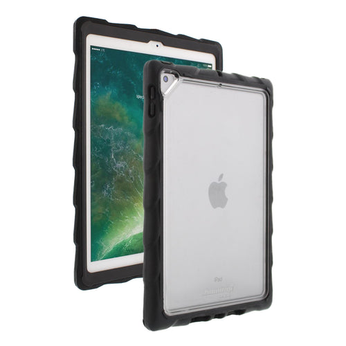 DropTech Clear iPad 9.7 Case -  Black/Smoke main