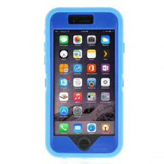 iPhone 6 case - Light Blue/Royal Blue 5