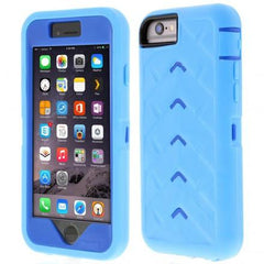 iPhone 6 case - Light Blue/Royal Blue main