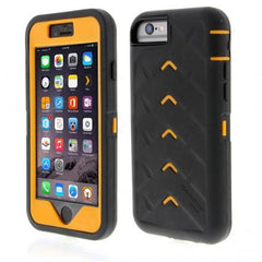 iPhone 6 Plus case - Black/Orange main