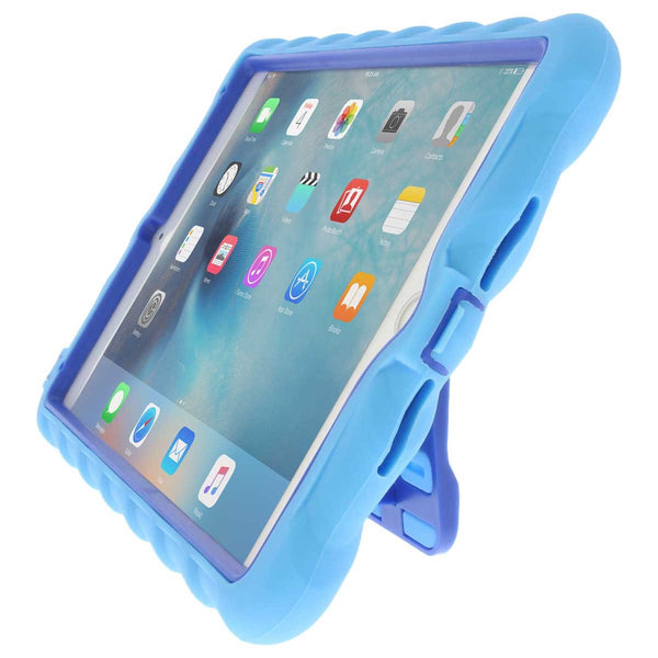 iPad Mini 4 case - Light Blue/Royal Blue main