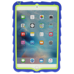 iPad Mini 4 case - Royal Blue/Lime 3