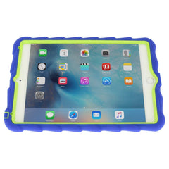 iPad Mini 4 case - Royal Blue/Lime 5