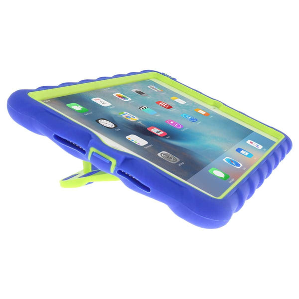 iPad Mini 4 case - Royal Blue/Lime 6