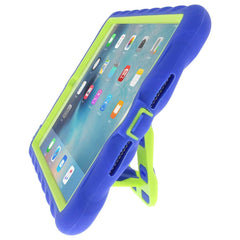 iPad Mini 4 case - Royal Blue/Lime main