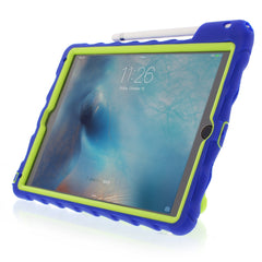 iPad Pro 9.7 case - Royal Blue/Lime 2