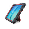 samsung tab a 8 case - black/red main