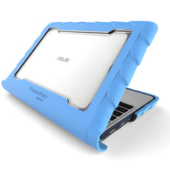 Asus C202 case - blue main