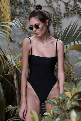 Bayu The Label Ambon One-Piece in Black Main Salamander Shop