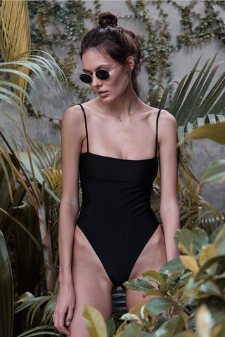 Bayu The Label Ambon One-Piece in Black