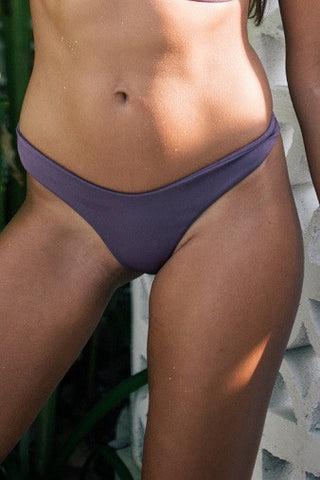 Bayu The Label Basu Bikini Bottom in Violet