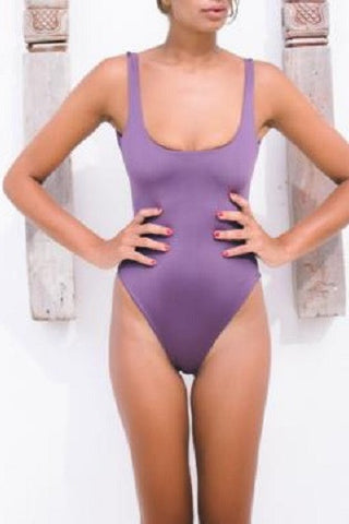 Bayu The Label Biaha One-Piece in Violet