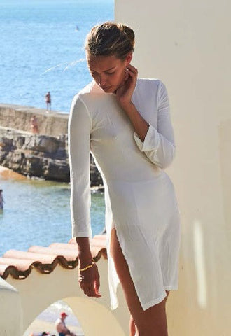 Bower Swimwear 54 Tunic in White