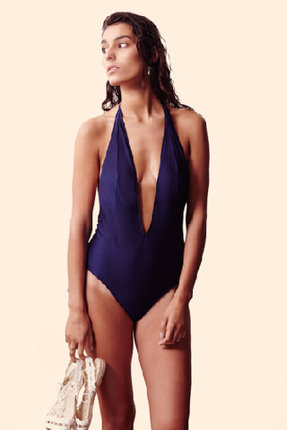 Bower Swimwear I Got You One-Piece in Night Sky