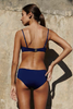 Bower Swimwear Charlotte Bikini Top Navy Back Salamander Shop