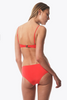 Bower Swimwear Charlotte Bikini Top in Bright Red Back Salamander Shop
