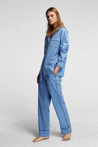 Sleeper Maria Blue Pajama Set with Pants