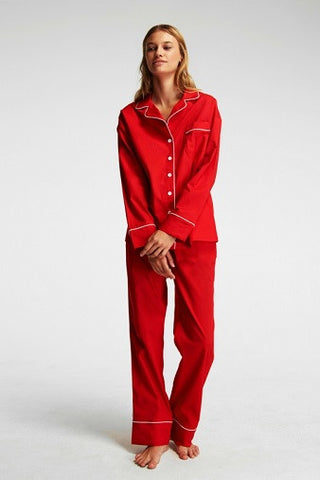 Sleeper Marx Red Pajama Set with Pants