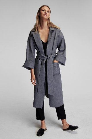 Sleeper Smoke Grey Robe