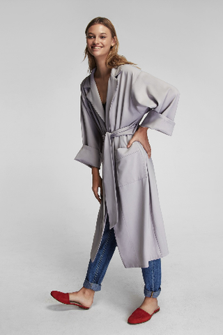 Sleeper Steel Blue Robe